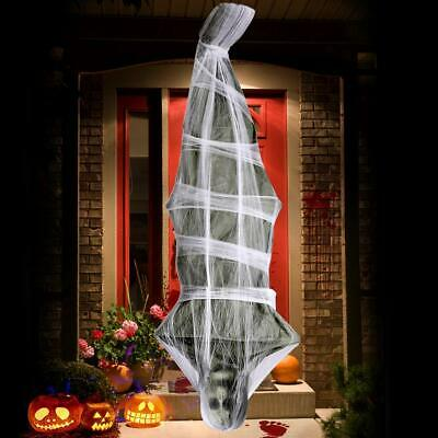 72 inch Cocoon Corpse Decoration -Scary Halloween Decorations Hanging Ghost