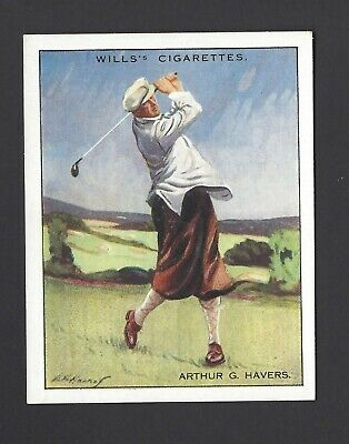 Wills - Famous Golfers - #9 Arthur G Havers