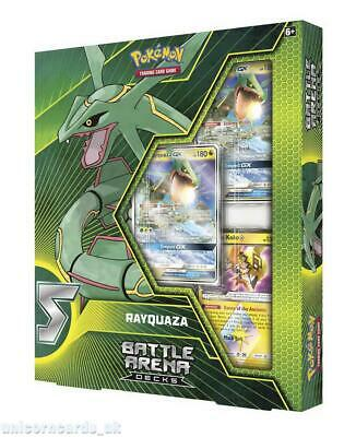 Pokemon TCG: Battle Arena Deck - Rayquaza-GX :: Brand New And Sealed! ::