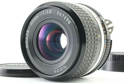 **NEAR MINT** Nikon Ai-s Nikkor 35mm f/2.8 Wide Angle MF Lens from Japan 0085