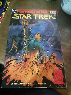 Star Trek Annual 4 1993 comic book graphic novel