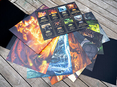 World of Warcraft 15th Anniversary Collector's Edition | ARTWORKS (X8) ONLY