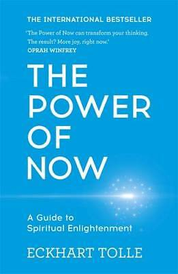 The Power of Now: A Guide to Spiritual Enlightenment, Eckhart Tolle, New, Book