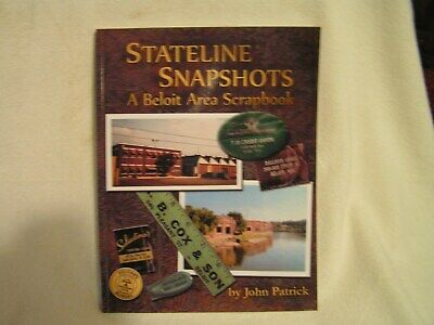 "Beloit, wi Book of historical pictures""  Stateline Snapshots"""