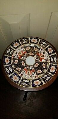 Tiffany & Co Royal Crown Derby Imari Porcelain Dinner Plates 10 1/2""