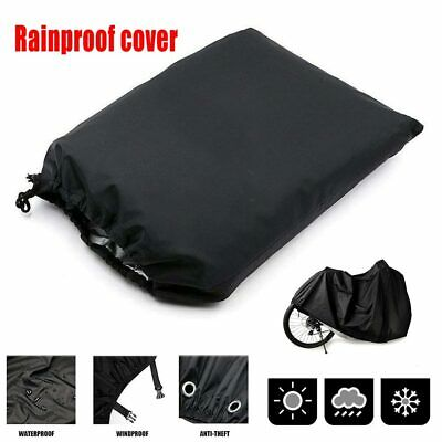 Mountain Bicycle Rain Cover Waterproof Heavy Duty Dust Cover w Storage Bag New