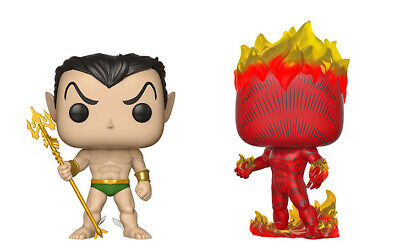 Marvel's 80th First Appearance Combo Set Namor and Human Torch (2) Funko Pop!