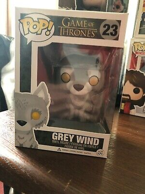 Funko PoP! Game Of Thrones Grey Wind #23 Vaulted/Retired Free Shipping Rare