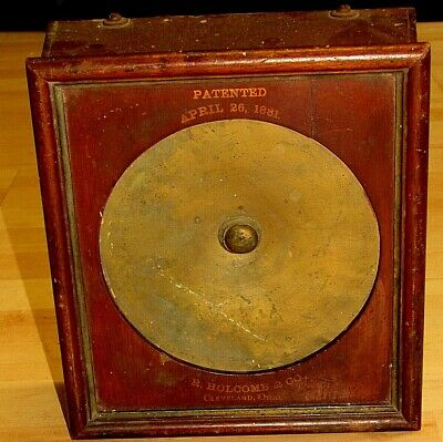 Antique Early Telephone String Phone Patented April 26, 1881 J.r. Holcomb Ohio