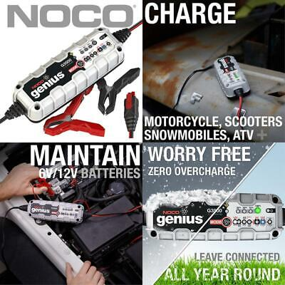 Noco Genius G3500Uk 6V/12V 3.5 Amp Ultrasafe Smart Battery Charger And Maintaine