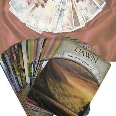 1 pack Magic Oracle Cards Earth Magic Read Fate Tarot 48-cards Deck G8D2O