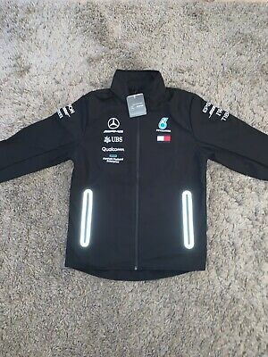 Mercedes Amg Petronas 2019 Team Softshell Jacket - Size M