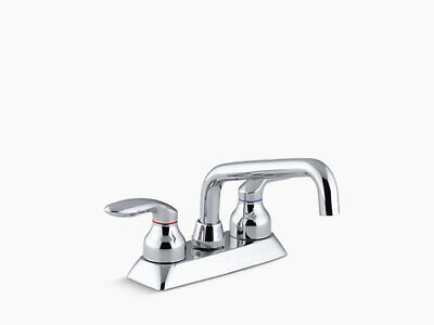 Kohler K-15270-4-CP Coralais Utility sink faucet with Two lever handles Chrome