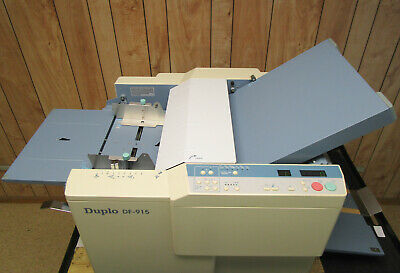Duplo DF-915 Automatic Setting Paper Folder FREE SHIPPING