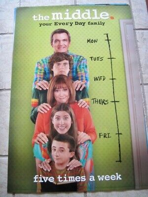 THE MIDDLE TV Series Syndicated Promotional Poster