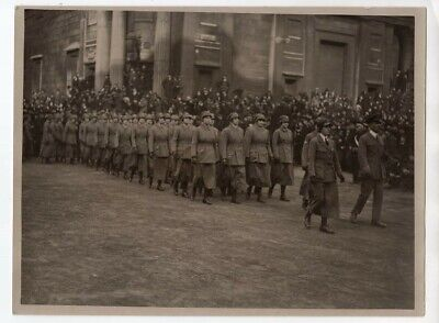 WWI London Lord Mayors Show Women RAF RFC Contingent Original News Photo