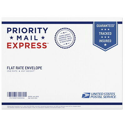 USPS Priority Mail Express- Flat Rate Envelope