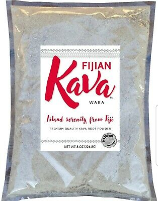 Noble Root Powder - Fijian Kava (1/2 Lb Bag) with Free Strainer Bag.