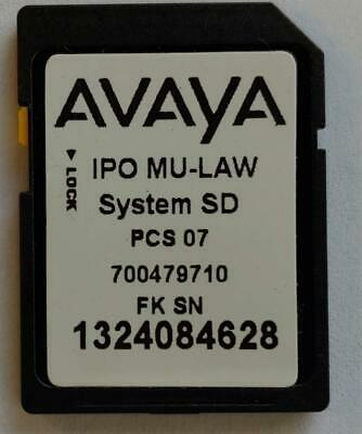 Avaya IP500 v2 Essential SD Card with Rls 8.0(18) Software