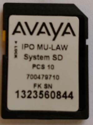 Avaya IP500 v2 Essential SD Card Rls 8.1(81)