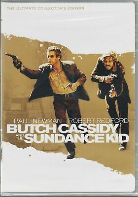 BUTCH CASSIDY AND THE SUNDANCE KID (DVD, 2009, 2-Disc Set, Collectors Ed) NEW