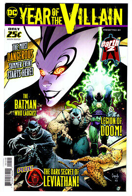 YEAR OF THE VILLAIN #1 DC COMICS 2019 1st PRINT in NM- with BATMAN & LUTHOR