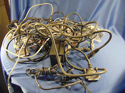 Lot of Electronic adapters plugs 3 prong extensions USB ether link 20+ computers