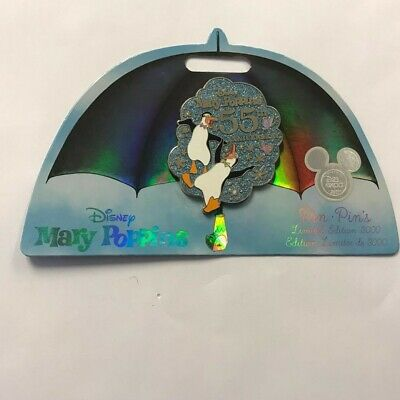 Disney D23 Expo 2019 Mary Poppins Penguins 55th Anniversary Pin LE 3000