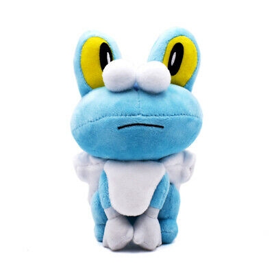"""Froakie Frog Soft Plush Cuddly Doll Stuffed Toy Kids Xmas Collectible Gift 7"""""""