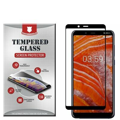 For Samsung Galaxy A10 Full Edge Tempered Glass Screen Protector Cover