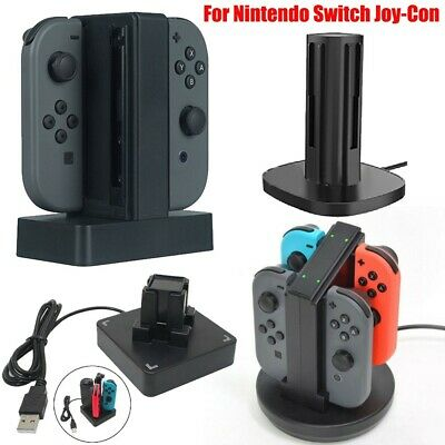 Charging Dock Station Charger with LED indication For Nintendo Switch Joy-Con UK