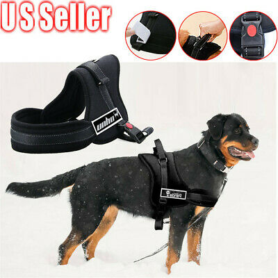 No Pull Adjustable Padded Dog Pet Vest Harness Quality Nylon S/Medium/ Large/ XL