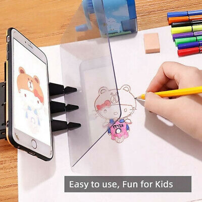 Optical Image Drawing Board Sketch Reflection Dimming Painting Mirror Plate NEW