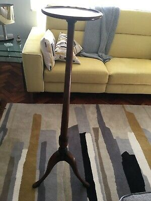 Antique Mahogany Plant Stand Torchere Display Stand Jardiniere, Lovely condition