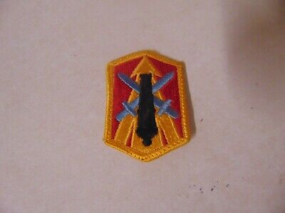 Military Patch US Army 224th Field Artillery Brigade Green OD BDU Sew-on
