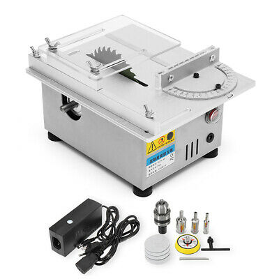 Raitool T4 Mini Table Saw Wood Working Bench Lathe Electric Polisher Grinder DIY
