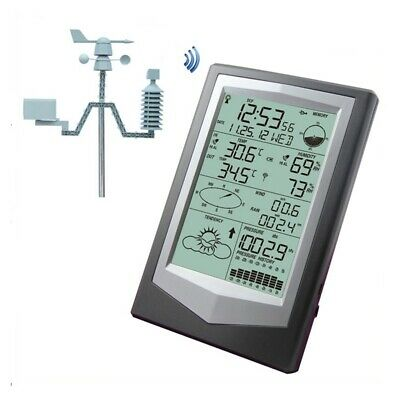WS1040 Professional Weather Station With PC Link Household Wireless Thermometer