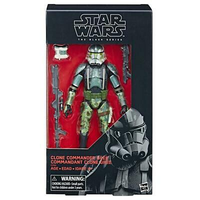 "Star Wars Black Series 6"": Clone Commander Gree - Exclusive"