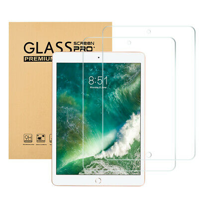 """2Pack Screen Protector for Apple iPad 10.2"""" 2019 7th Generation Tempered Glass"""
