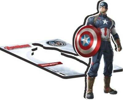 The Avengers Age of Ultron Movie Captain America Image 10.75 Desktop Standee NEW