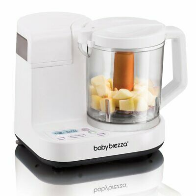 Baby Brezza Glass Baby Food Maker, 4 Cup Capacity, BRZ00131S