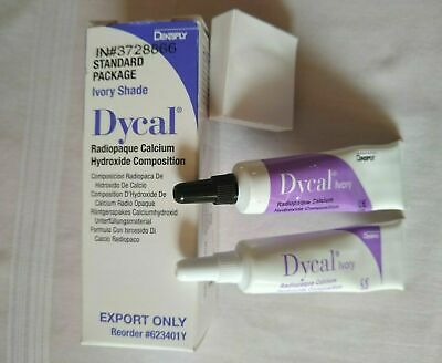 Dental DYCAL Ivory Dentin Radiopaque Calcium Hydroxide pulp capping EXP:2021 F S