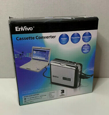 EnVivo Cassette To MP3 Converter - New Unused