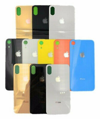 iPhone 8P XR XS Max Battery Glass Back Cover Housing Replacement+Bigger Cam Hole