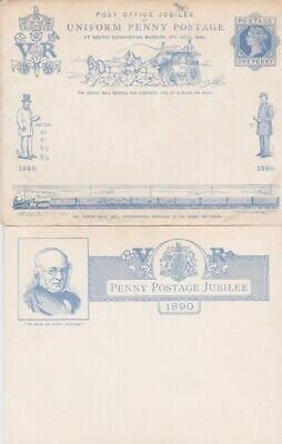 Stamps 1890 Uniform Penny Postage Jubilee Souvenir Postal History Collection