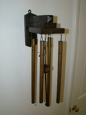 RARE ANTIQUE ARTS & CRAFTS MISSION OAK DINNER CHIME Circa 1910