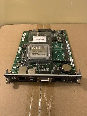 NEC Univerge SV8100 CD-VM00 Voice Mail/App Server Card 670837 UM8000 550 Hours