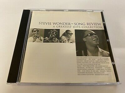 Stevie Wonder - Song Review Cd 1996