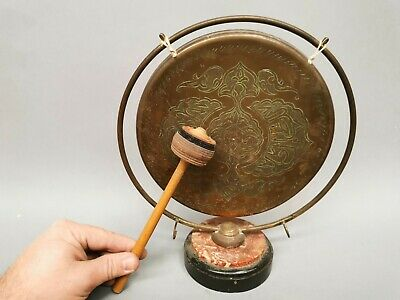 Ancien Gong Chinois Asie