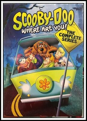 Scooby-Doo, Where Are You: The Complete Series (DVD, 7-Disc Set) USA SELLER